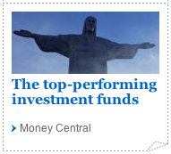 The top-performing investment funds